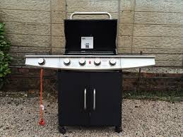 b q patio heaters b u0026q michigan 4 burner gas barbecue never used in newton mearns