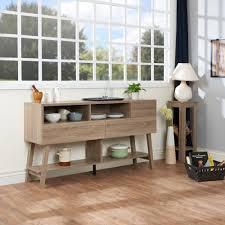 Buffet Modern Furniture by Furniture Of America Glenwood Modern Multi Storage Dining Buffet