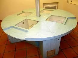 bureau rond bureau rond 4 postes informatique encastré bureau d occasion aux