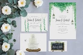 rustic wedding invitation kits rustic wedding invitation kit invitation templates creative market