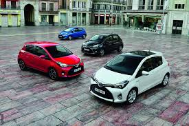 toyota europe toyota europe reveals facelifted yaris subcompact japanese car