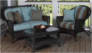 Patio Furniture Cushion Replacements Wicker Patio Furniture Cushions Replacement More Eye Catching