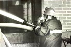 unmasked firefighters and cancer