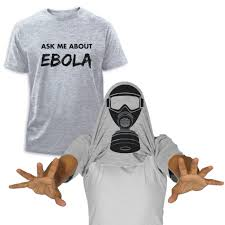 ask me about ebola virus t shirt flip over head shirt halloween