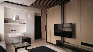 Interesting Modern Small Apartment Simply Decorating A Studio - Contemporary studio apartment design