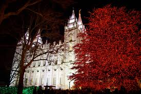 temple square lights 2017 schedule video time lapse of temple square clothed in christmas beauty