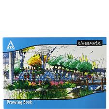 classmate products buy online itc classmate drawing book center staple sb 40 pages 40 pages
