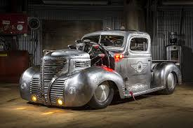 homemade pickup truck 12 4 litre radial engined 1939 plymouth pickup