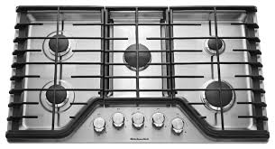 48 Inch Cooktop Gas Kitchenaid 48 Inch Built In Gas Cooktop Stainless Steel Best Buy