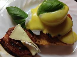 roasted tomatoes eggs benedict just add an egg