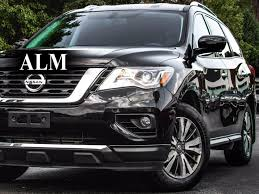 grey nissan pathfinder 2017 used nissan pathfinder 4x4 sl at alm gwinnett serving duluth