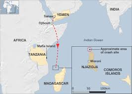 map comoros news africa comoros crash black box found