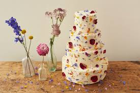 Celebration Cakes How To Decorate A Wedding Or Celebration Cake With Edible Petals
