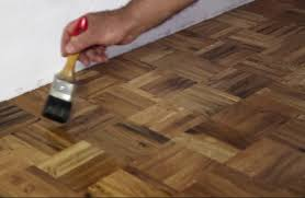 sanding and sealing hardwood floors and parquet floors give a