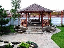 Backyard Pergola Design Ideas Outdoor Cool Garden Gazebo Design Ideas Photos Of On Interior