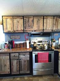 kitchen cabinets from pallet wood kitchen cabinets using pallets easy pallet ideas