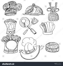Hand Drawn Doodle Chef Hat Vector Stock Vector 311702444