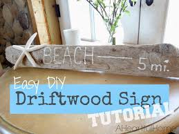 Decorative Driftwood For Homes by A Heartful Home 31 Days Of Coastal Style Easy Diy Driftwood