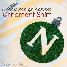 monogram christmas monogram kids christmas shirts creative ramblings