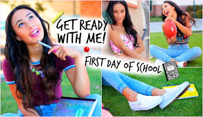 makeup school near me get ready with me day of school hair makeup 3 denim