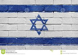 Flag Of Israel Flag Of Israel On Brick Wall Stock Illustration Image 9736232