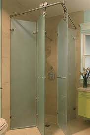 Small Shower Door Vigo 60 Inch Clear Glass Frameless Sliding Shower Door 12636331
