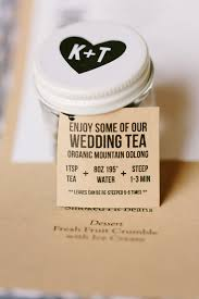tea wedding favors how we used tea in our wedding ceremony world of tea