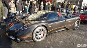 pagani zonda gold pagani zonda c12 f roadster 27 december 2016 autogespot