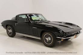 corvette car for sale 1965 1966 corvettes cars from proteam
