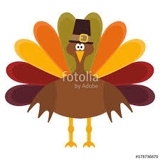 vector illustration of a thanksgiving turkey stock image and