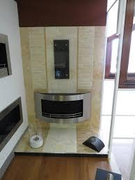 astoria modern indoor and outdoor wall mount ethanol fireplace