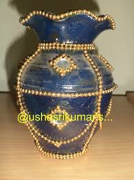 How To Decorate Pot At Home by Crafts For Home Decor Pot Painting And Decoration White M Seal