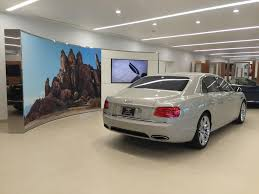 bentley showroom showroom