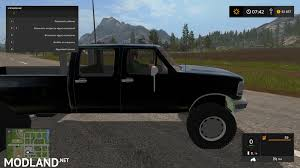 minecraft pickup truck 1994 5 ford fsuperduty mod farming simulator 17