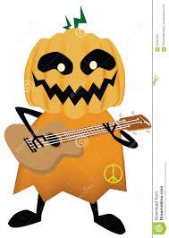 halloween scary clipart vector vector halloween scary with the guitar stock vector