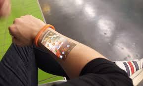 cicret bracelet review images The cicret bracelet turns your arm into screen video news jpg