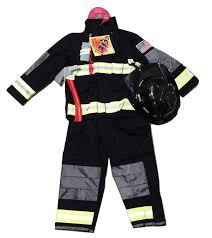 Amazon Com Teetot Authentic Boys Fireman Halloween Costume
