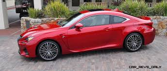 red lexus 2015 2015 lexus rc f in red at pebble beach 95