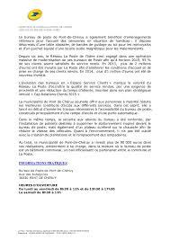 heure ouverture bureau de poste 2014 12 18 cp inauguration bp pont de cheruy