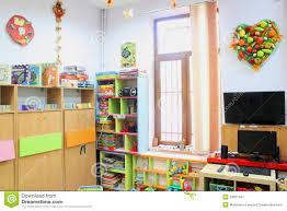 empty kindergarten classroom editorial photography image 33807347