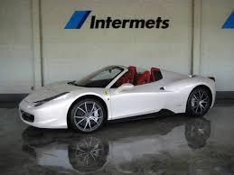 458 Spider Interior Ferrari 458 Italia White Ferrari 458 Spider