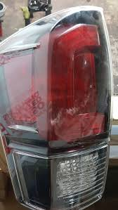 2016 toyota tacoma tail light 2016 toyota tacoma oem blacked out tail lights l r auto parts in