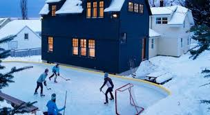 How To Build A Ice Rink In Your Backyard Backyard Ice Rink