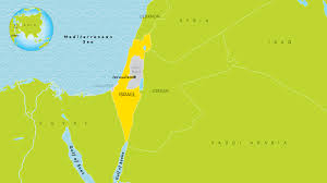 Israel Map 1948 Israel