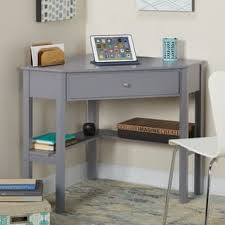Grey Office Desk Grey Desks Computer Tables For Less Overstock