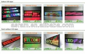 lighted message board signs small lighted signs text scrolling p10 led board outdoor scrolling