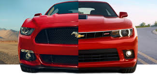 mustang or camaro 2015 ford mustang vs 2015 chevy camaro