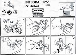 Ikea Kitchen Cabinet Installation Video Ikea Is Big Into Information Design Because Of The Multi Cultural