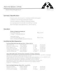 cv format for veterinary doctor resume vet tech resume sles veterinary assistant summary