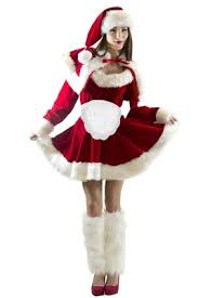 mrs claus costumes mrs claus santa costume apron 4051